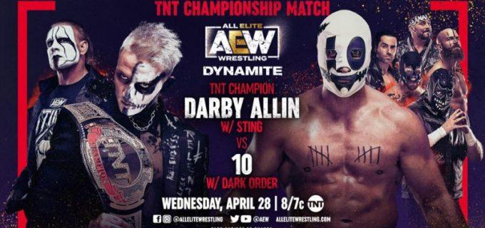 【AEW】4.28 ダイナマイト スティングのピンチをアーチャー救出!ケニーモクスリータッグ戦へ