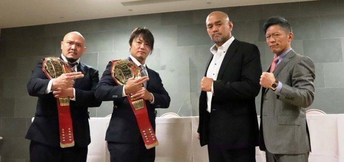 【DDT】4・18新潟でKO-Dタッグ王座争うスマイルピッサリと準烈がともに勝利宣言!秋山「勝つからかっこいい写真を載せてください」