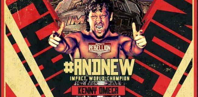 【インパクト】ケニー・オメガがインパクト世界王者のリッチ・スワンに勝利!インパクト&AEWの2冠王となる
