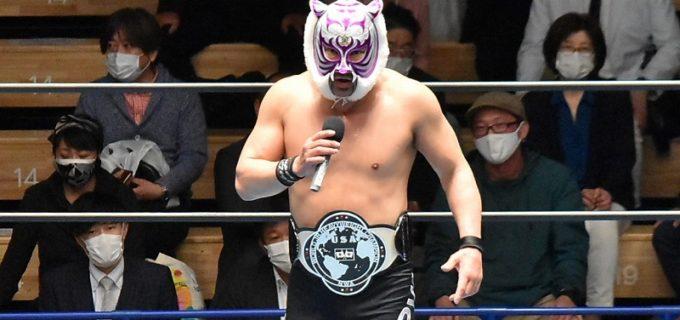 【ストロングスタイルプロレス】スーパー・タイガーがレジェンド王座を防衛!村上和成の挑戦表明に「俺が本物の虎を見せてやるよ!」