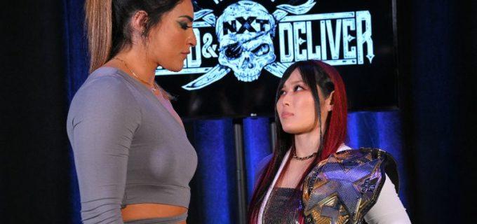 【WWE】紫雷イオが王座戦に自信!「お前は私を倒せない。タイトルは私の物だ」