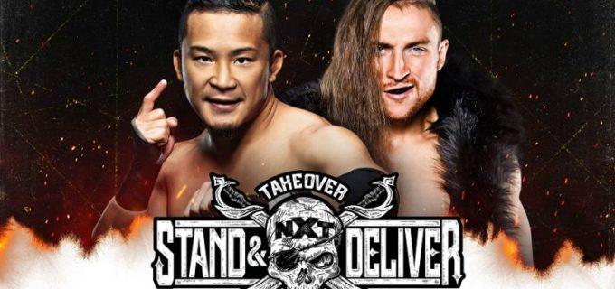 【WWE】KUSHIDAvsピート・ダンが「NXTテイクオーバー:スタンド&デリバー」で決定