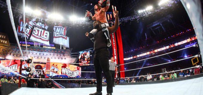 【WWEレッスルマニア】AJスタイルズ&オモスがニュー・デイを撃破してロウタッグ王座を戴冠