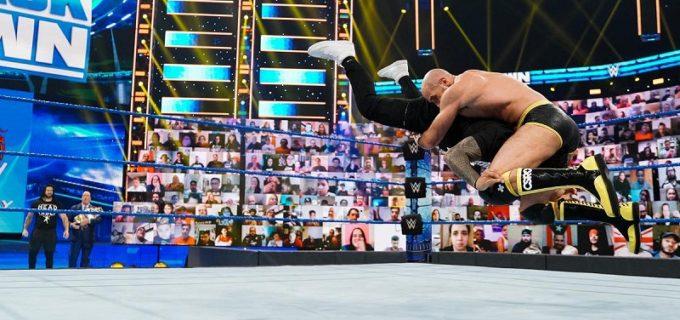 【WWE】セザーロがPPV王座戦を前に王者レインズを一蹴してジェイをニュートラライザー葬