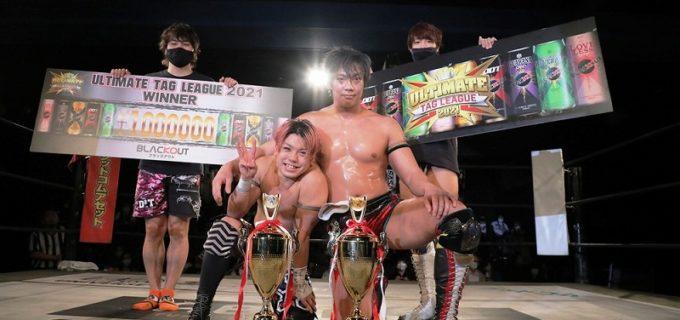 【DDT】竹下幸之介&勝俣瞬馬が16年ぶり開催のタッグリーグ戦を制し、KO-Dタッグ王座に挑戦へ!「最初で最後ぐらいの気持ちでこのチャンスをつかんで、トップまで行き切りましょう」