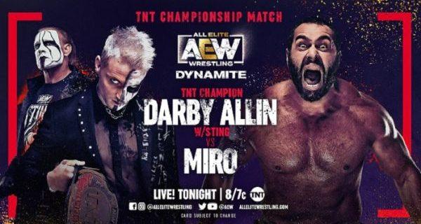 【AEW】5.12 ダイナマイト ミロがアリンに勝利しTNT新王者に!ケニーが次期挑戦者決定戦に介入!