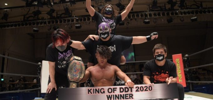 【DDT】最強の座を決めるトーナメント「KING OF DDT 2021」出場選手決定!