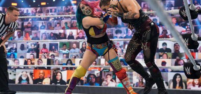 "【WWE】 ""女帝""アスカがロウ女子王座トリプルスレット戦に挑むも王座返り咲きならず"