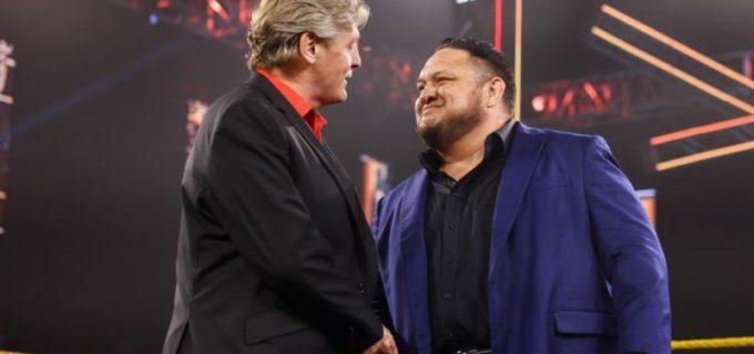 【WWE】NXTに電撃復帰したサモア・ジョーがGMの強面アシスタントに就任