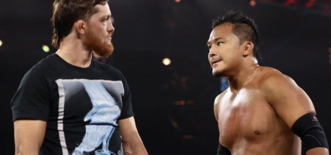 【WWE】KUSHIDAがバクスター相手に王座防衛!次週、ついにオライリー戦が決定