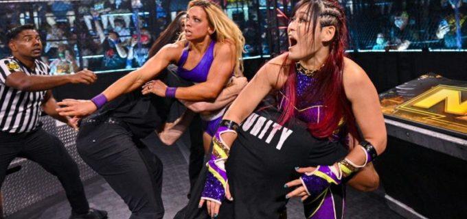 【WWE】紫雷イオが王者の目前でタッグ戦勝利!次週の挑戦者決定戦「とにかく奴らをぶっ倒す」