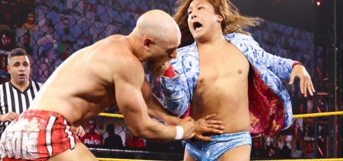 【WWE】イケメン二郎がNXTデビューも無念のタッグ戦黒星「再挑戦しよう!次は絶対に勝つ」