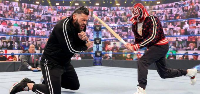【WWE】レイ・ミステリオが王者レインズに対戦要求「お前をヘル・イン・ア・セルで闘いたい男として認めてやる」