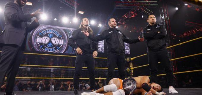 【WWE】KUSHIDAが宿敵オライリーに惜敗 さらにNXTデビューの鈴木秀樹らダイヤモンド・マインに襲われる