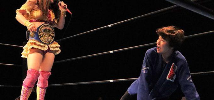 引退試合を前にうのが最初で最後のIW19タイトルマッチ!23日にP's Party全員掛け 6.13「SHINKIBA Party」