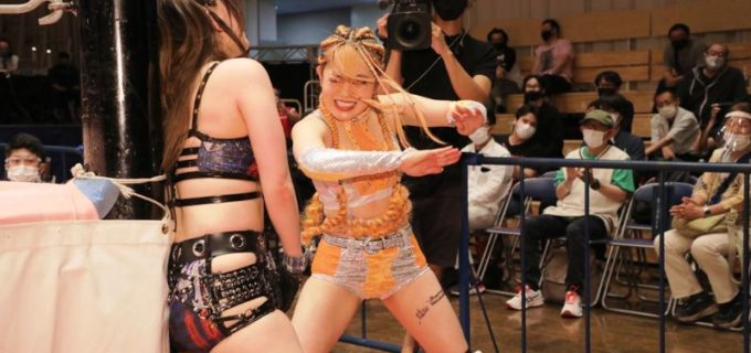 【東京女子】乃蒼ヒカリが小橋マリカを退けインターナショナル王座初V「最初の相手がメチャクチャなモンスターだったので、私はもう何も恐いものはない」