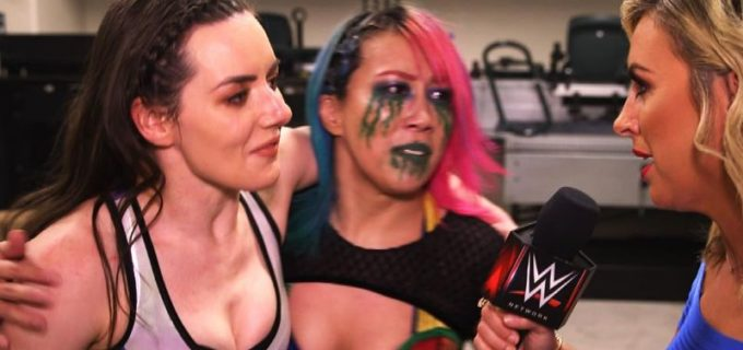"【WWE】""女帝""アスカ&ニッキーが不仲のリア&シャーロットをタッグ戦で撃破"