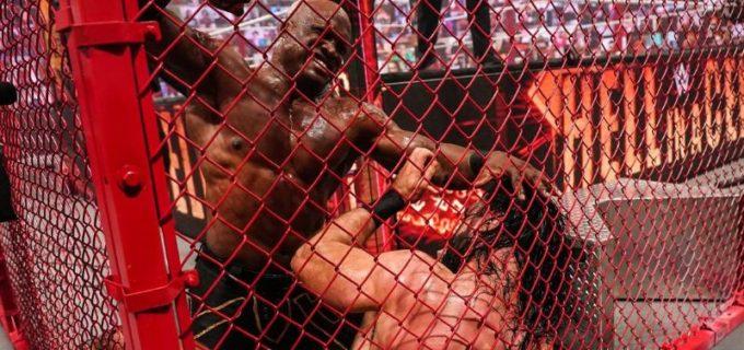 【WWE】ラシュリーがMVPの介入でマッキンタイアの最後の挑戦を退けて王座防衛に成功