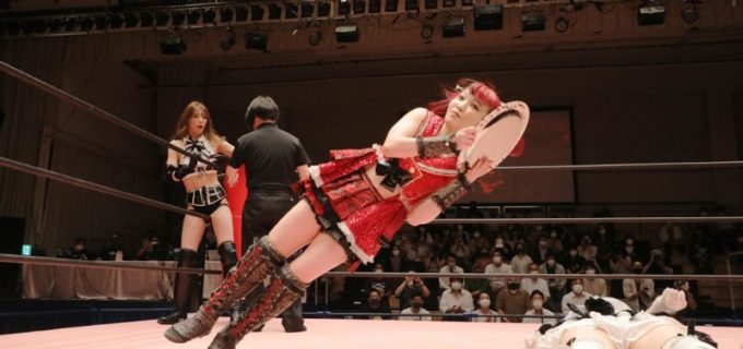 【東京女子】NEO美威獅鬼軍が「121000000」を破りプリンセスタッグ王座V2!沙希様が6・26両国で山下実優のプリプリ王座に挑戦へ「そのおベルトを奪って、もっとドン底に落としたくなったわ」