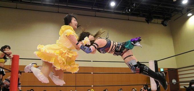 【東京女子】らくが乃蒼ヒカリから初の3カウントを奪い、7・10両国でのインターナショナル王座挑戦が決定!「私の人生を変えたいし、見てる人の人生も変えられるようなタイトルマッチにしたい」