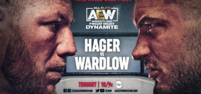 【AEW】6.18 ダイナマイト ジェイク・ヘイガーがMMAケージファイトで勝利!