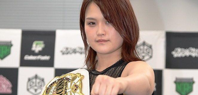 【東京女子】プリプリ王座初Vの山下実優が東京女子初の2冠獲りを視野に!「切り替えてしっかり前に進んでいきたい」