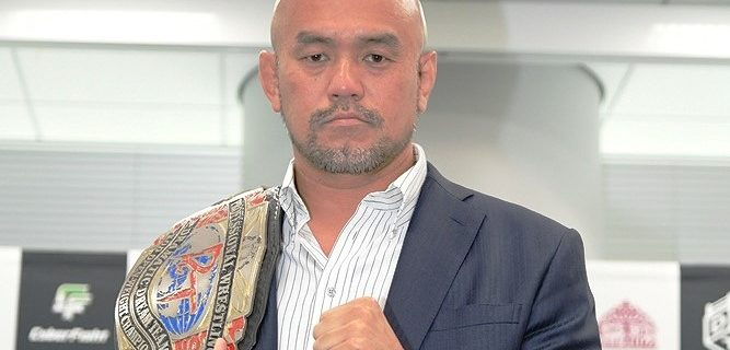 【DDT】KO-D無差別級王座防衛に成功した秋山準、V4戦は8・21川崎でのビッグマッチに決定!「『KING OF DDT』で優勝すれば、僕に挑戦者を選ぶ権利があると思う」