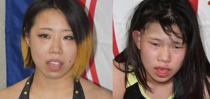 【仙女】DASH・チサコとカノンが負傷により、6.27新潟大会を欠場