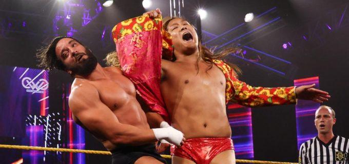 【WWE】イケメン二郎が元クルーザー級王者トニー・ニースを撃破「夢を叶えに来たんだよ!見てろよ」
