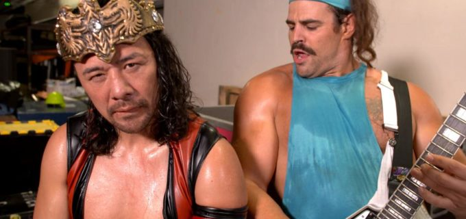 【WWE】中邑真輔がキング・コービンとの王冠争奪戦を制す「俺がWWEのキングだ」