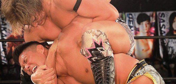 【DDT】竹下幸之介、元同門の彰人を新技で破り優勝宣言!「1試合1試合何かを得て勝ち上がっていきたい」