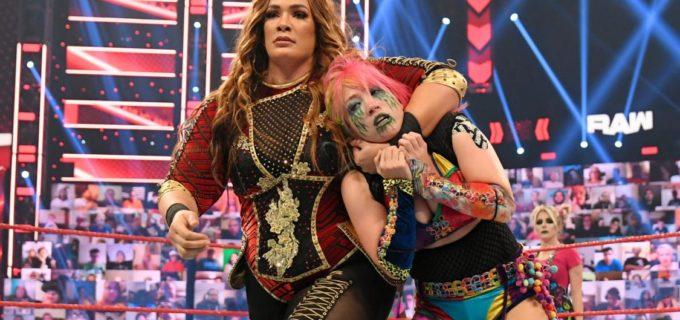 "【WWE】""女帝""アスカが8人女子タッグ戦で敗れて屈辱の2週連続黒星"
