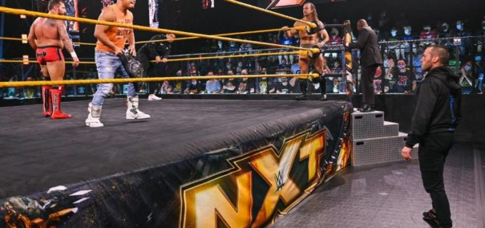 【WWE】KUSHIDAが鈴木秀樹らダイヤモンド・マインと一触即発 次週タッグ戦へ