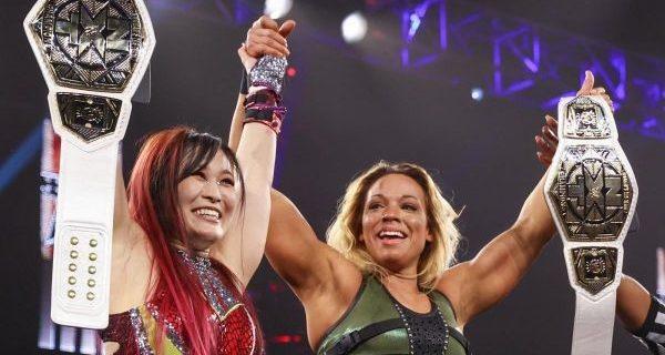 【WWE】紫雷イオ&ゾーイ・スタークがNXT女子タッグ王座を初戴冠「NXTを盛り上げるぞ!」