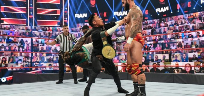 【WWE】王者戸澤陽がRトゥルースに襲われるも24/7王座死守