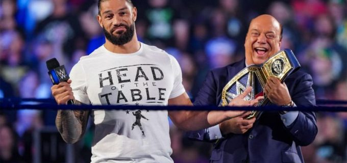 【WWE】王者ローマン・レインズがジョン・シナの王座挑戦を拒否してフィン・ベイラーとの王座戦へ