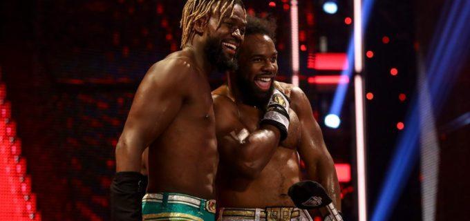 【WWE】コフィ・キングストンが前哨タッグ戦で王者ボビー・ラシュリーを撃破