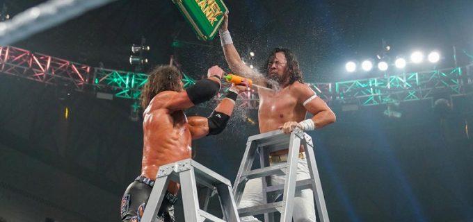 【WWE】中邑真輔が男子MITBラダー戦出場もブリーフケース奪取ならず Mr. MITBはビッグEに