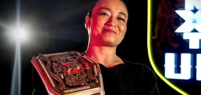 【WWE】王者里村明衣子が野心に燃えるアメールとの王座戦に自信「リスペクトを教えてやる」
