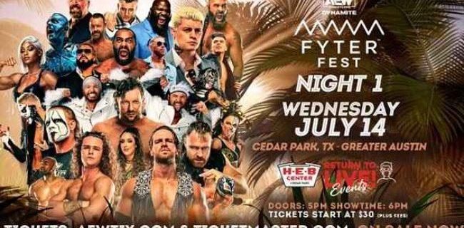【AEW】7.14 ダイナマイト IWGP USヘビー王者モクスリーがアンダーソンを退け防衛!坂崎ユカ勝利!FYTER FEST NIGHT1