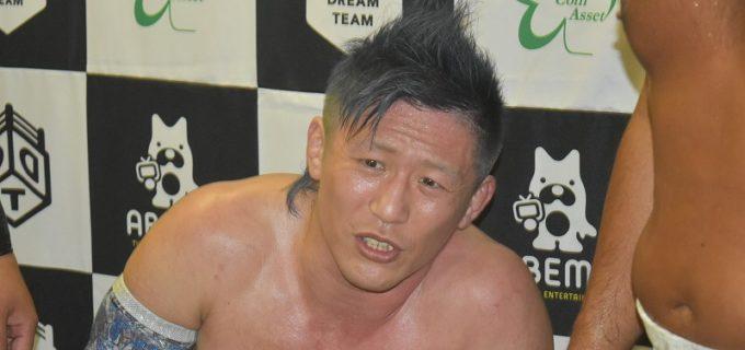 【DDT】大石真翔が第一腰椎骨折により欠場、8.15後楽園でのKO-Dタッグ選手権試合は中止に