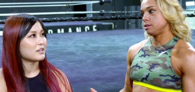 【WWE】紫雷イオが関係改善を懇願するゾーイ・スタークの要望を渋々了承