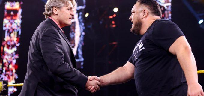 【WWE】サモア・ジョーがロースターに電撃復帰!GMと合意して「NXTテイクオーバー36」のNXT王座挑戦へ