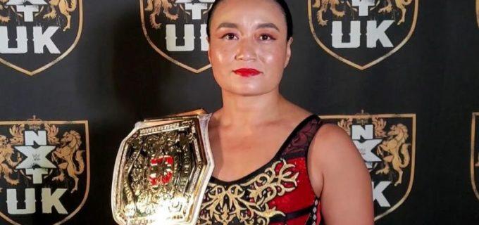 【WWE】NXT UK女子王者里村明衣子がロッカールームで叱咤激励「私にチャレンジしてほしい」