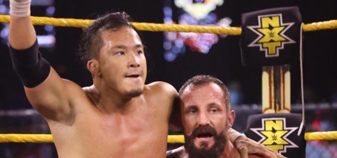 【WWE】KUSHIDAが因縁のダイヤモンド・マインをタッグ戦で撃破