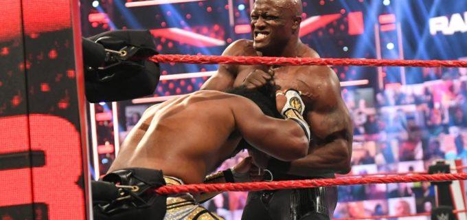 【WWE】王者ボビー・ラシュリーがPPV防衛戦を前にエグゼビア・ウッズに不覚