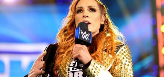 【WWE】新王者ベッキーがSDに登場!ビアンカはエリミネーション戦を制して次期王座挑戦権を獲得