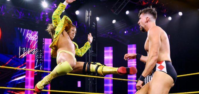 【WWE】イケメン二郎がイケメンスラッシュでチェイスとの接戦を制す