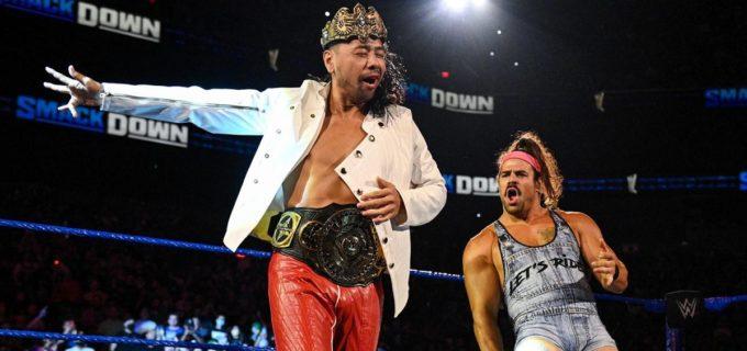 【WWE】中邑真輔&リック・ブーグスがクルーズ&アジーズを撃破してタッグ戦初勝利!