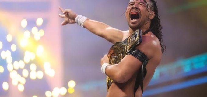 """【WWE】""""キング""""中邑真輔がクルーズをキンシャサで沈めてIC王座を戴冠「キングとしてIC王者になったぞ」"""